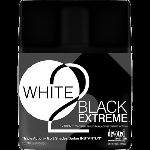 White 2 Black Extreme 8.5oz