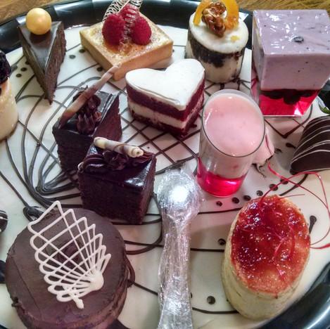 Desserts Display