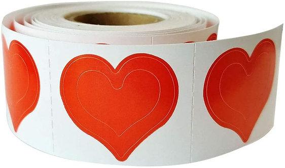 Body Stickers 3-Way Heart