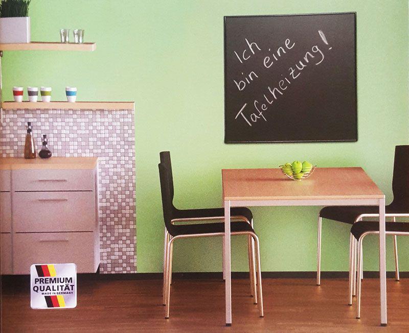 Tafel-Heizung für die Küche