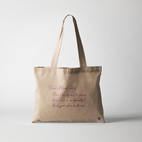 Dear Black Girl Tote Bags