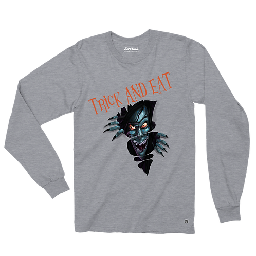 Trick and Eat Long Sleeve Unisex T-Shirt