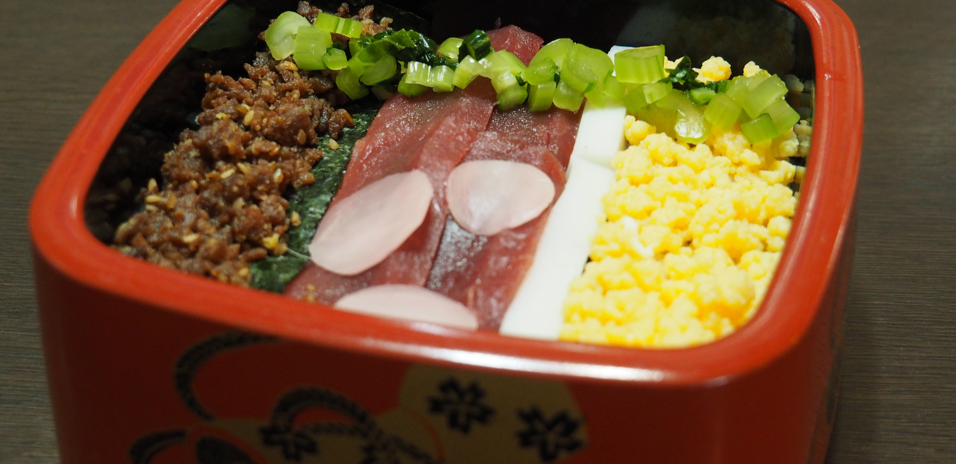 ちらし寿司 フォルトゥーナのざわーな 1500円(税込)