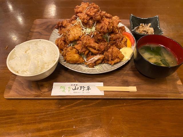 山野草 浅間盛り盛りカラアゲ 1200円(税込)