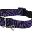 Thumbnail: Purple Zebra Adjustable Dog Collar