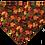 Thumbnail: Fall Leaves Over-the-Collar Dog Bandana