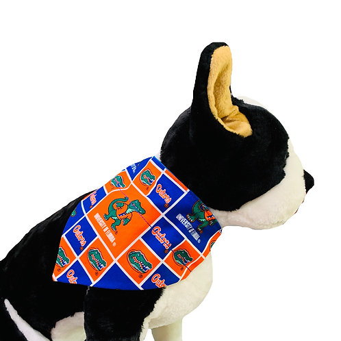 University of Florida Over-the-Collar Dog Bandana