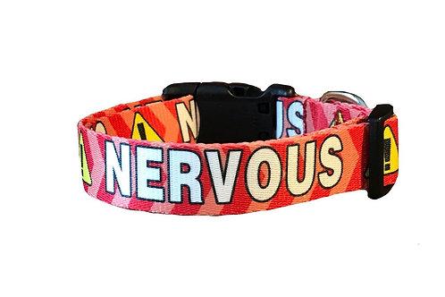 Nervous Dog Adjustable Dog Collar