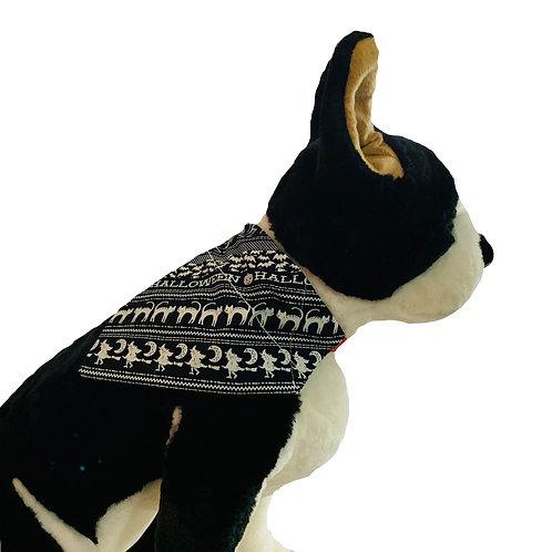 Halloween Glow in the Dark Over-the-Collar Dog Bandana