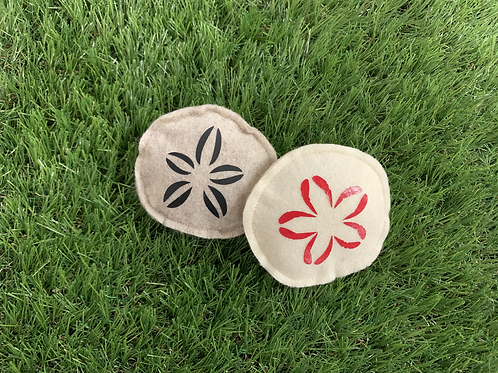 Sand Dollar Catnip Cat Toys