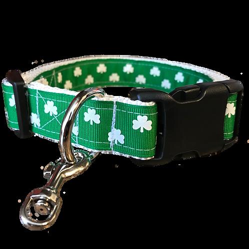 St. Patrick's Day Adjustable Dog Collar