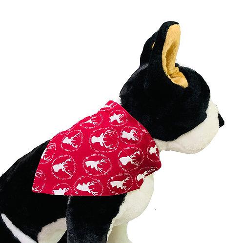 Deer Over-the-Collar Dog Bandana
