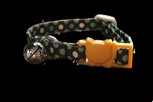 Breakaway Polka Dots Cat Collar