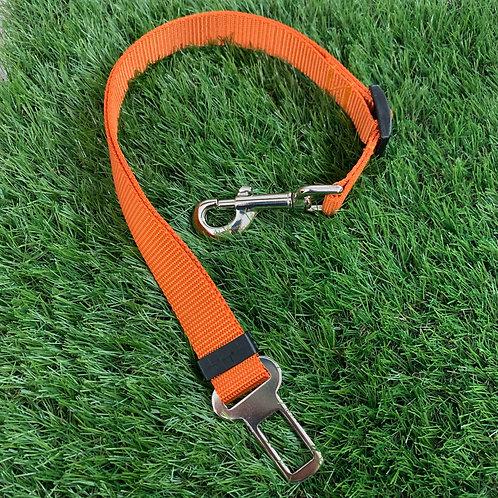 Pet Adjustable Seat Belt, Adventure Orange