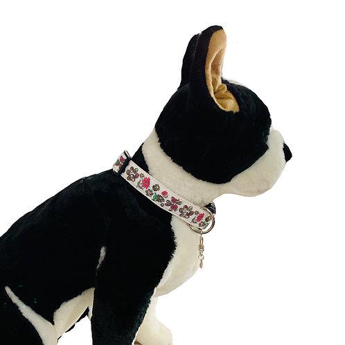 Flower Paws Adjustable Dog Collar