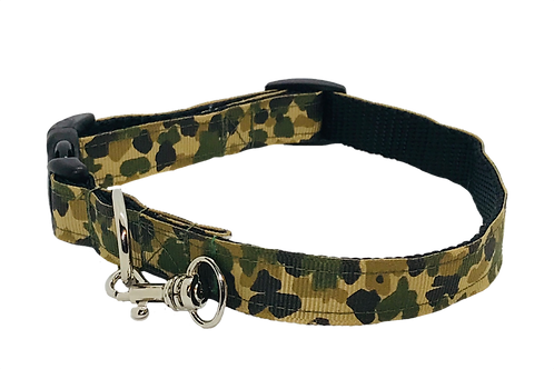 Camo Adjustable Dog Collar