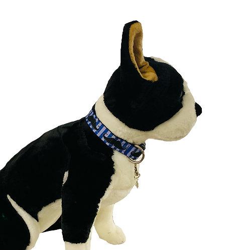 Moustache Adjustable Dog Collar