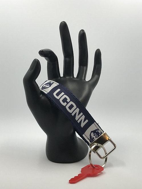 UCONN Key Fob Wristlet Keychains