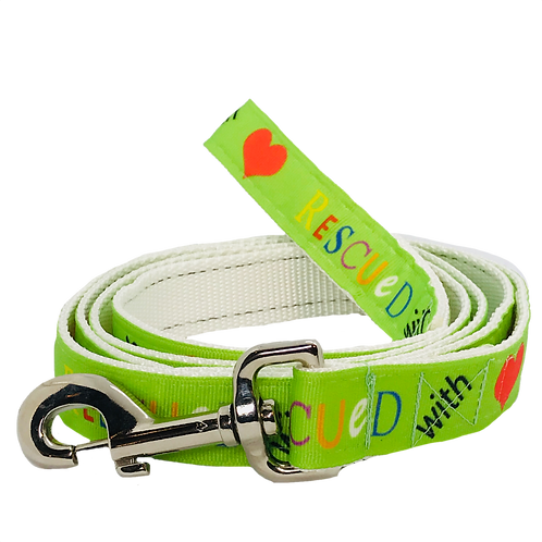 Rescued with Love Dog Leash