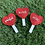Thumbnail: Heart Red Lollipop Catnip Cat Toys