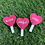 Thumbnail: Heart Pink Lollipop Catnip Cat Toys
