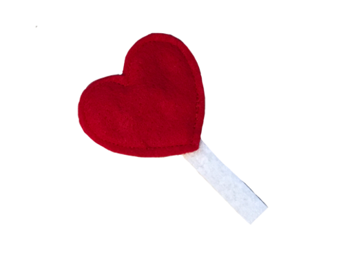Heart Lollipop Catnip Cat Toys