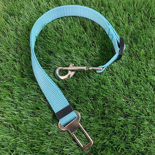Pet Adjustable Seat Belt, Caribbean Blue