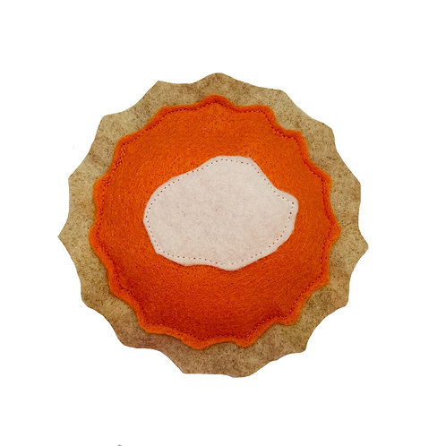 Pumpkin Pie Catnip Toy