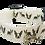 Thumbnail: Boston Terrier Adjustable Dog Collar, White