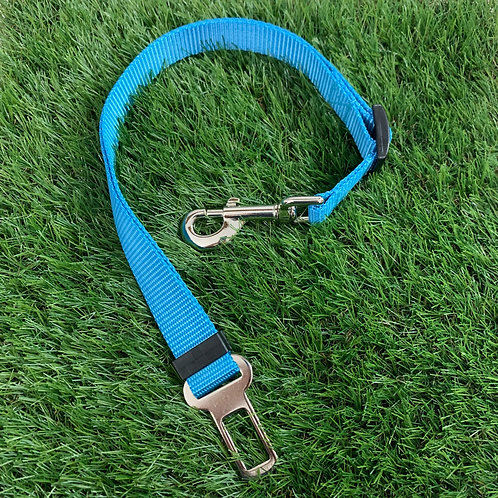 Pet Adjustable Seat Belt, Coastal Blue