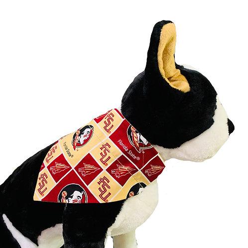 FSU Over-the-Collar Dog Bandana