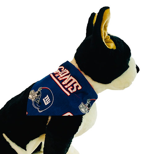 New York Giants Over-the-Collar Dog Bandana