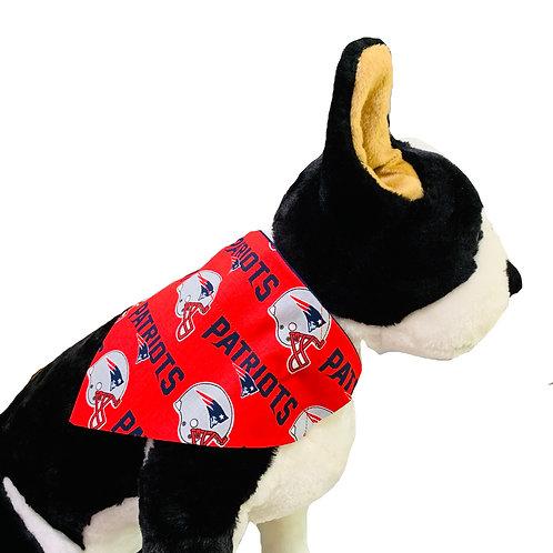New England Patriots Over-the-Collar Dog Bandana
