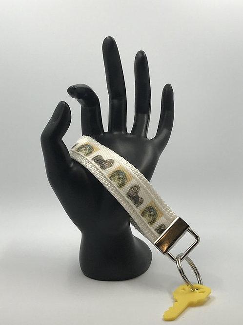 Shih Tzu Key Fob Wristlet Keychains
