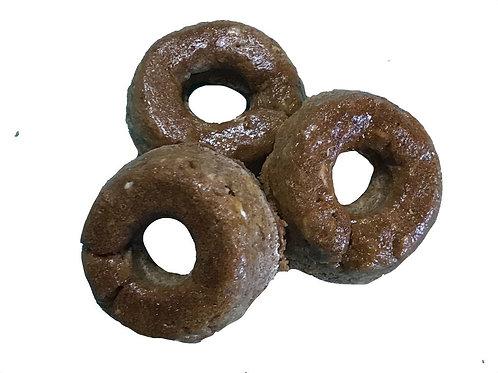 Oat and Apple Donut Dog Treats