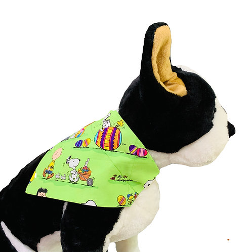 Peanuts Easter Egg Hunt Over-the-Collar Dog Bandana