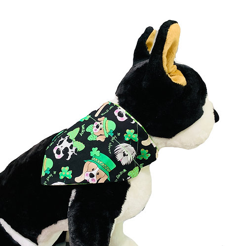 Lucky Pup St. Patty's Day Over-the-Collar Dog Bandana
