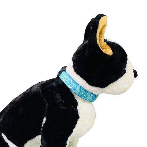 Green Paisley Adjustable Dog Collar
