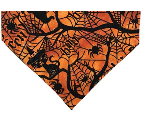 Halloween Haunted Forest Over-the-Collar Dog Bandana