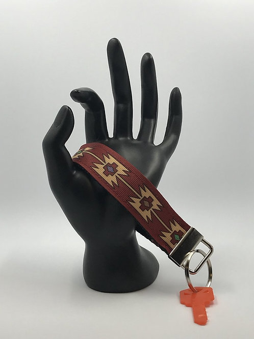 Aztec Key Fob Wristlet Keychains