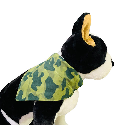 Camo Over-the-Collar Dog Bandana