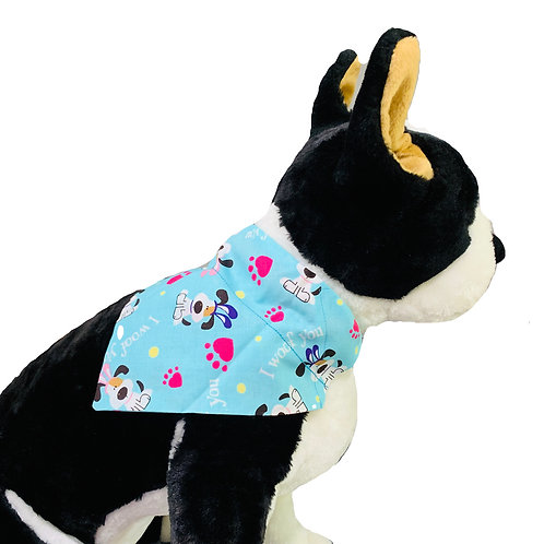 I Woof You Easter Over-the-Collar Dog Bandana