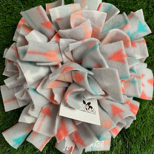 Snuffle Mat Treat Puzzle Dog Toy, Arrows