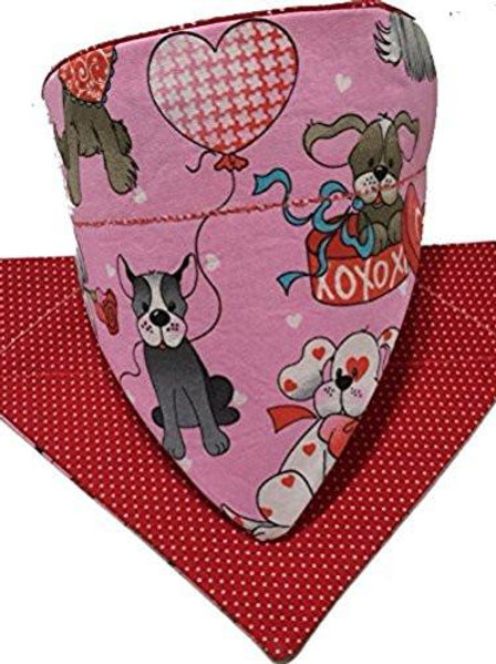 Valentine's Day Puppy Love Over-the-Collar Dog Bandana