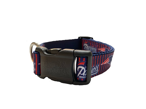 New England Patriots Adjustable Dog Collar
