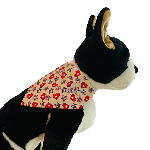 American Pride Over-the-Collar Dog Bandana