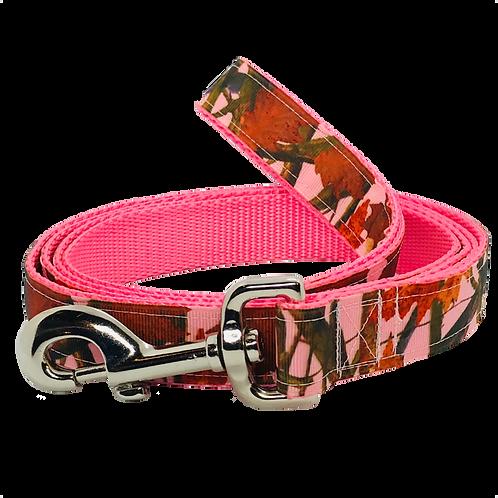 Pink Tree Camo Dog Leash