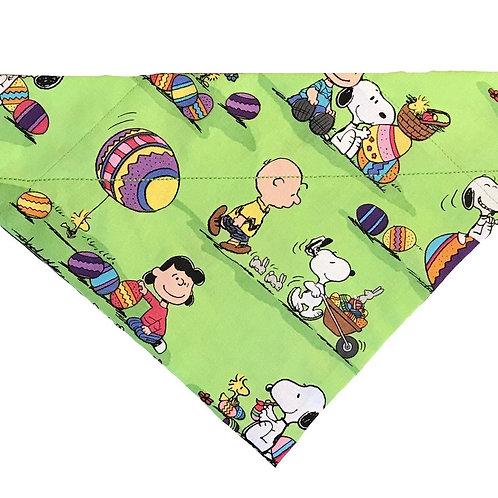 Peanuts Easter Egg Hunt Over-the-Collar Dog Bandana
