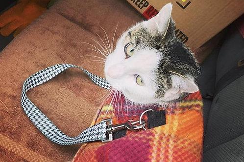 Pet Seat Belt, Houndstooth
