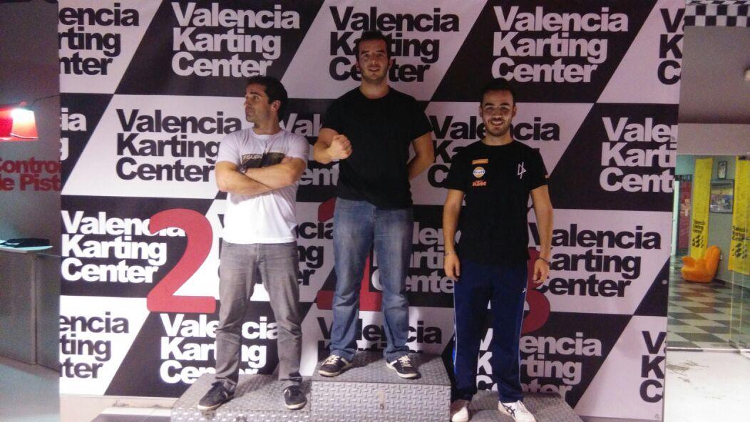 Podio GP 1 - Valencia Circuit